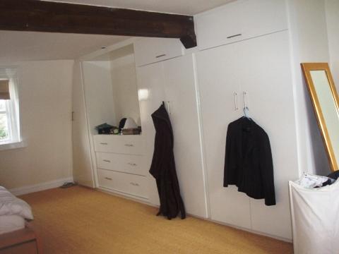fitted oak wardrobes
